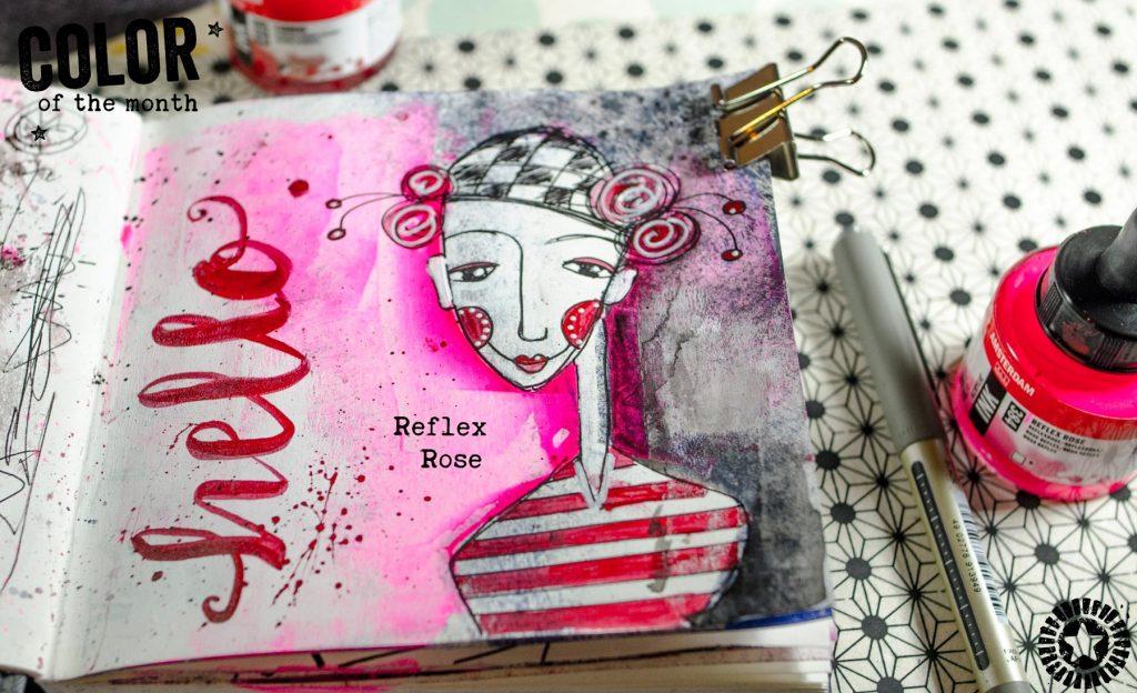 Amsterdam Acrylic Ink Reflex Rose
