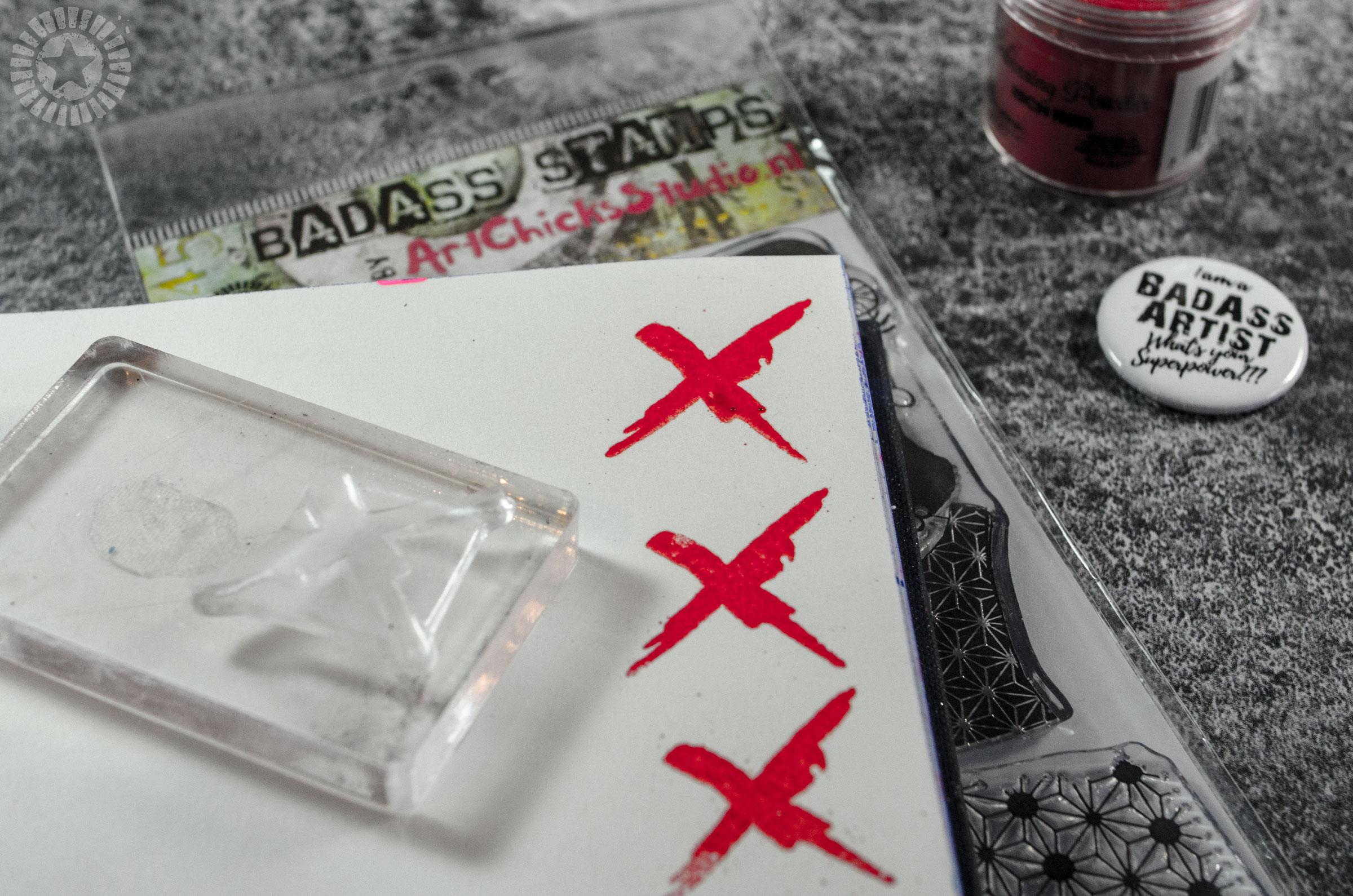 Badass stamps studio • Bloknote nl